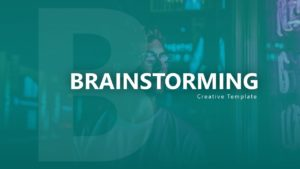 Free Brainstorming Business PowerPoint Template