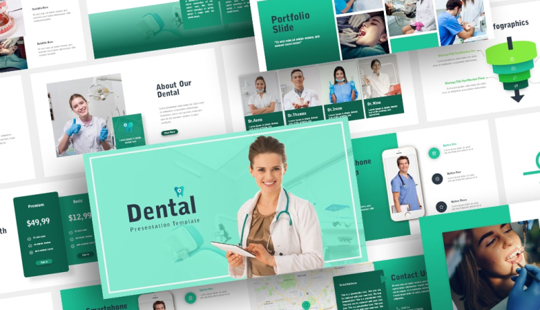 Free Dental PowerPoint Template