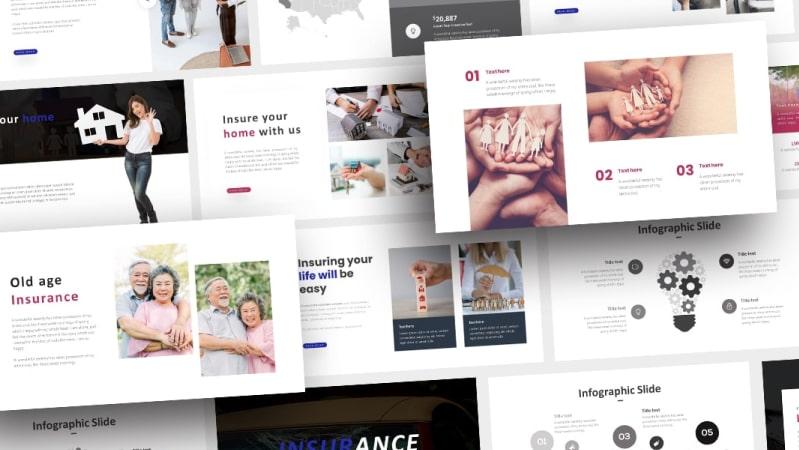 Free Insurance Finance PowerPoint Template