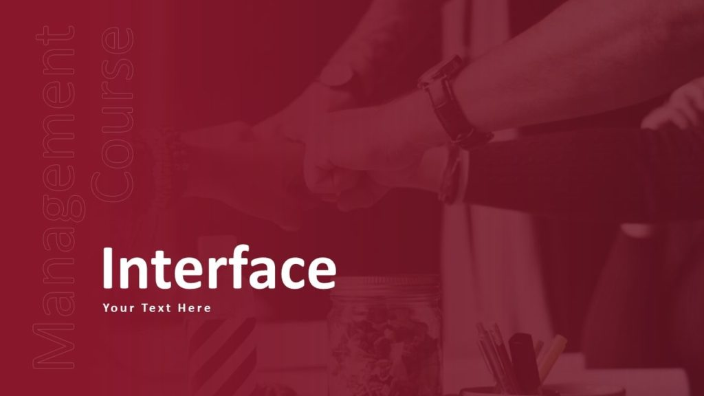 Free Interface Business PowerPoint Template