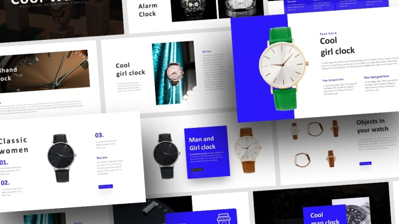 Free Watch Business PowerPoint Template