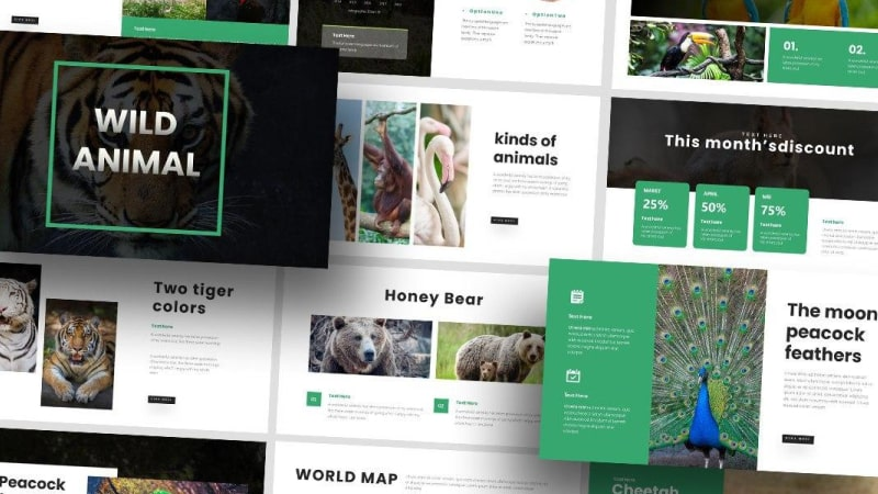 Free Wildlife Nature PowerPoint Template