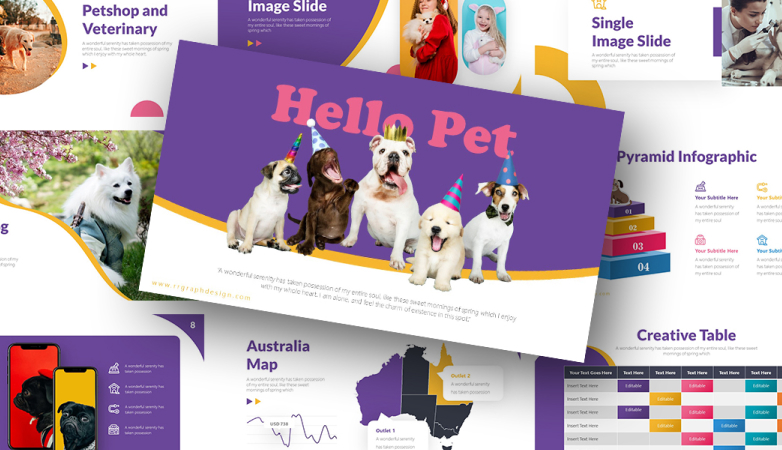 Hello Pet PowerPoint Template