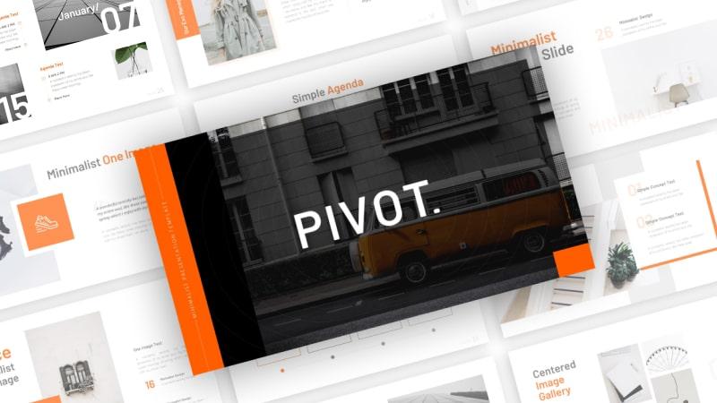 Pivot Minimalist PowerPoint Template