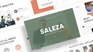 Saleza Sales PowerPoint Template