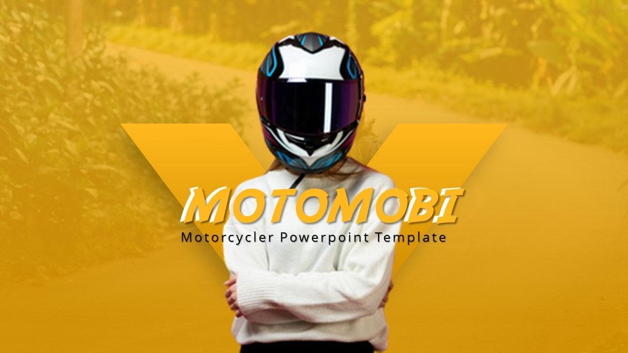 Motomobi Motorcycle PowerPoint Template