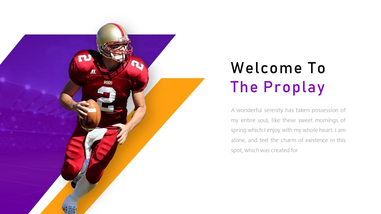 Free Proplay Sport PowerPoint Template