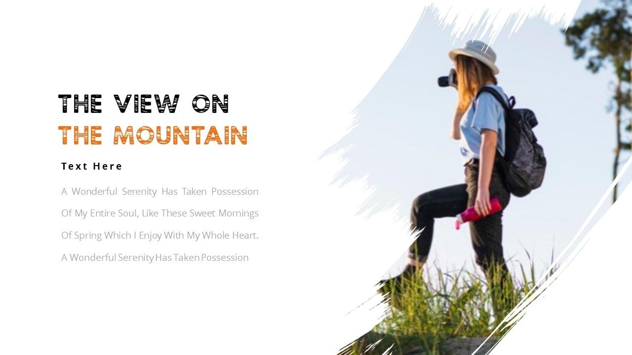 Free Trekking Adventure PowerPoint Template