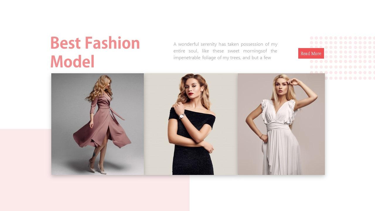 Free Simon Fashion PowerPoint Template