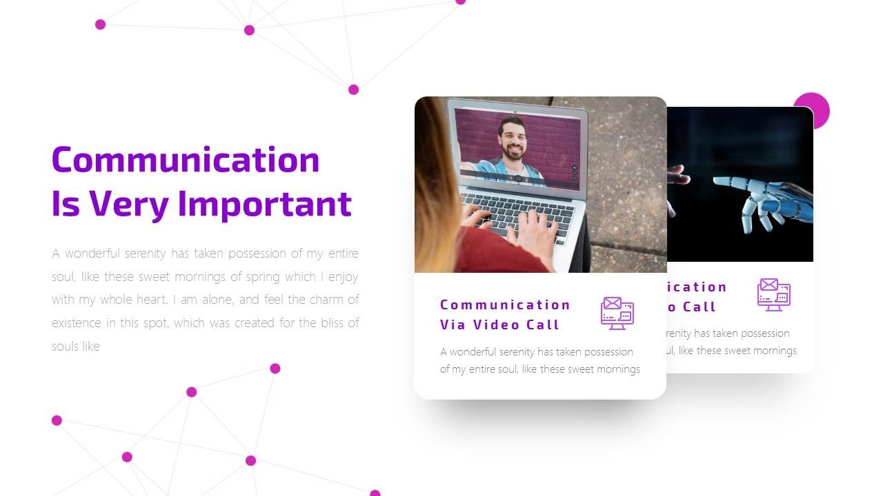 Virtual Technology PowerPoint Template