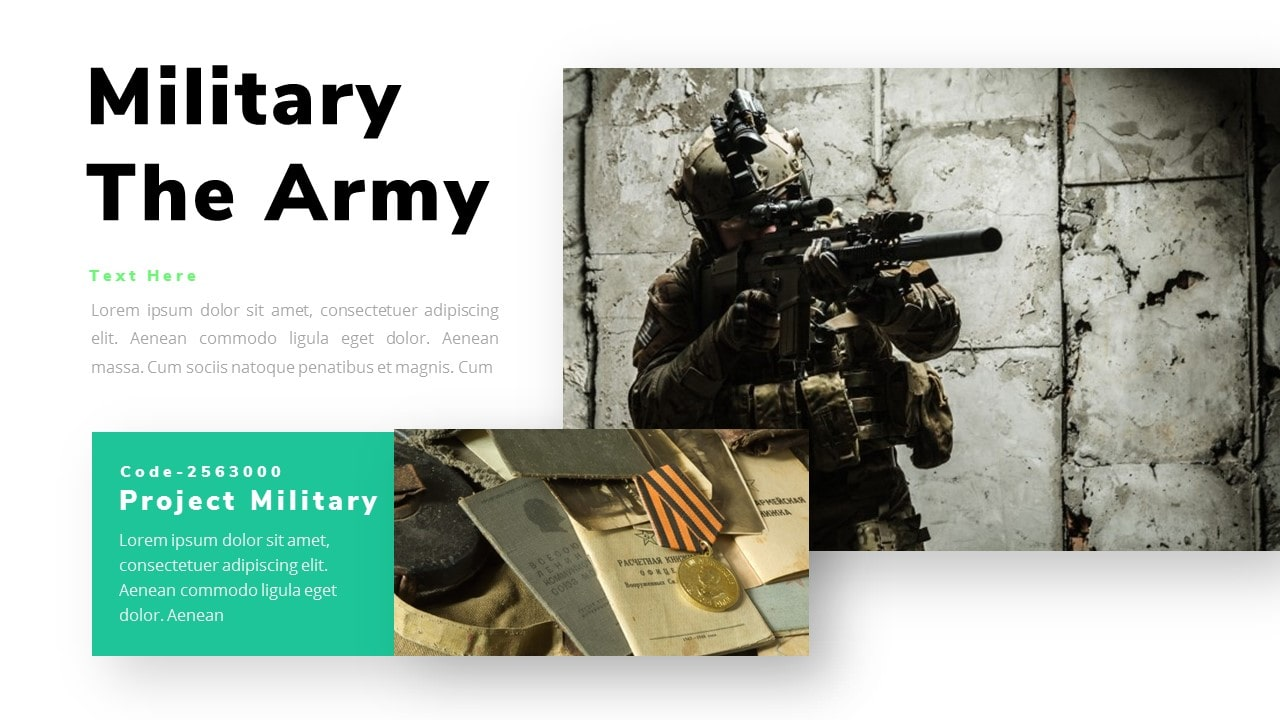 Free Ranger Military PowerPoint Template