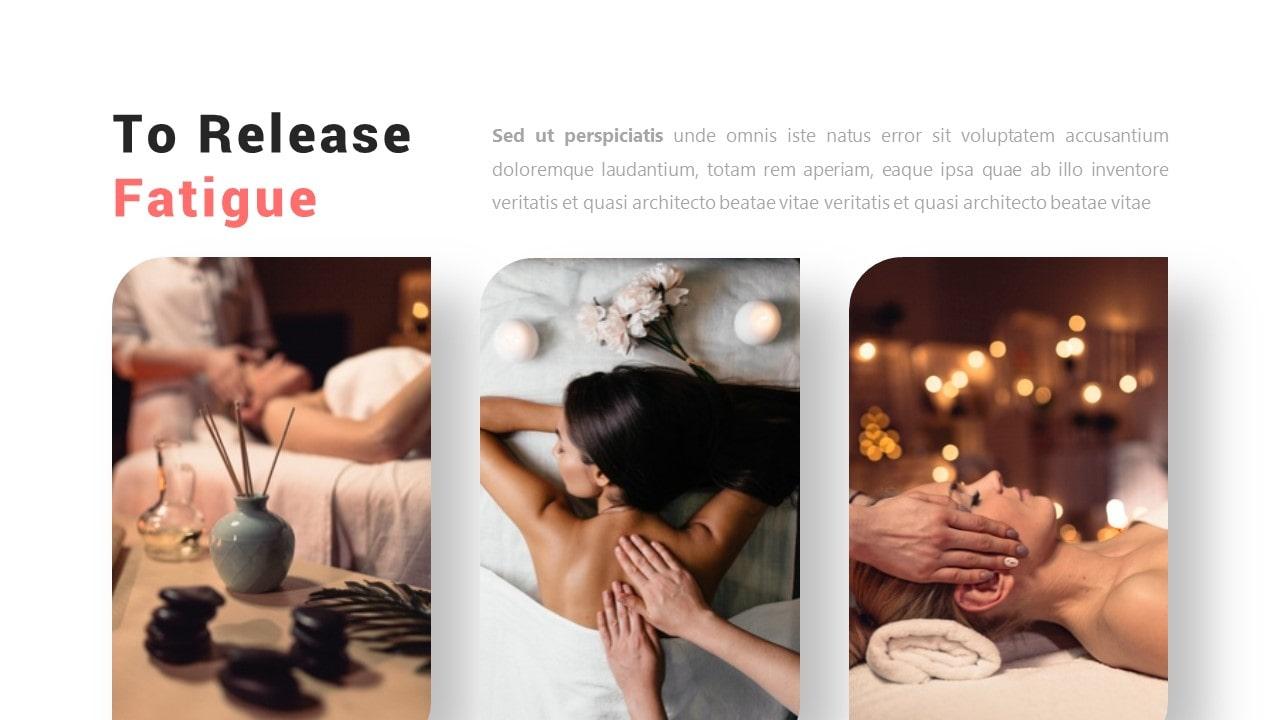 Free Massage Beautycare PowerPoint Template