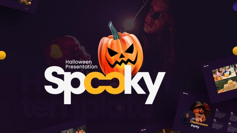 Spooky Halloween PowerPoint Template