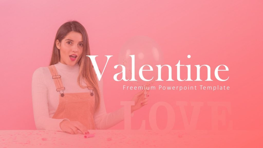 Valentine Day PowerPoint Template