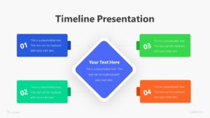4 Step Business Plan Infographic Template