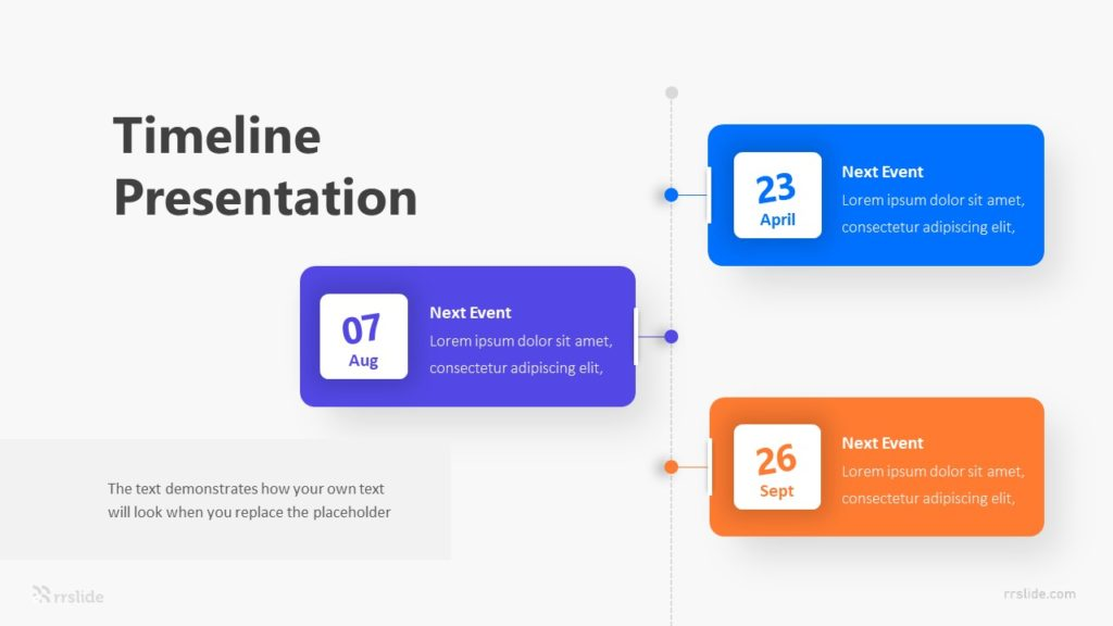 Timeline Meeting Schedule Infographic Template