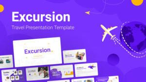 Excursion Travelling PowerPoint Template