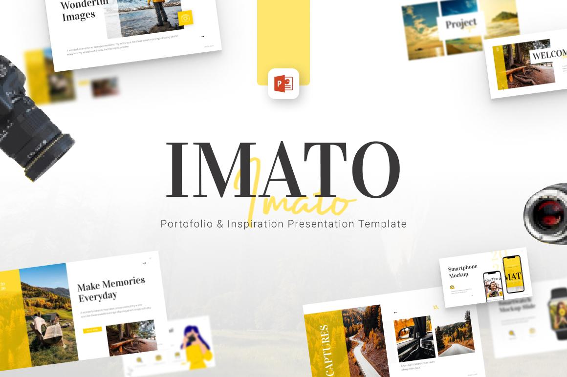 Imato Minimalist PowerPoint Template