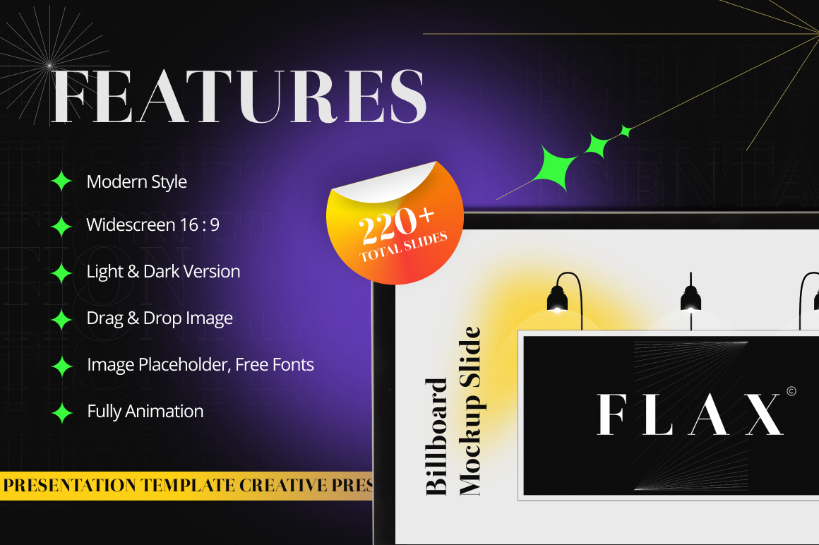 Flax Multipurpose PowerPoint Template