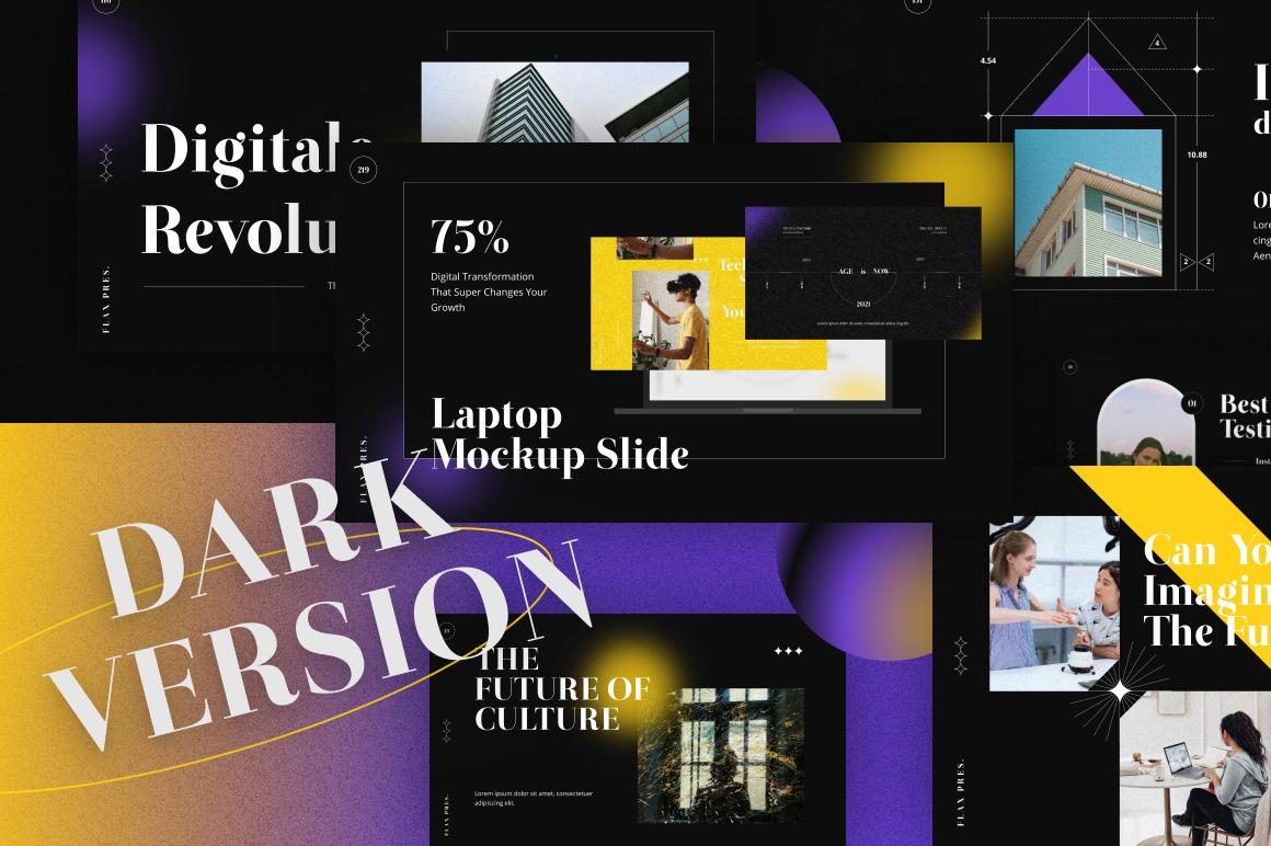 04 Dark version showcase