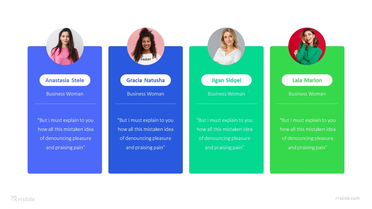 3 Columns Feedback Slides Infographic Template