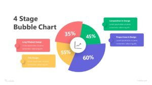 4 Bubble Chart Infographic Template