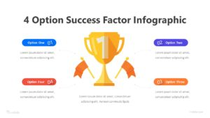 4 Option Success Factor Infographic Template