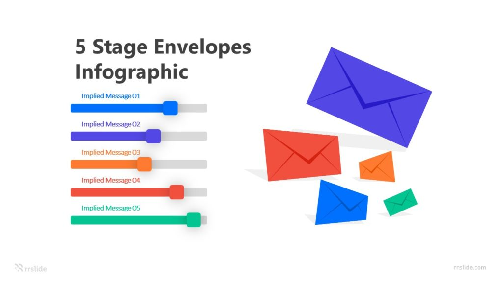 5 Stage Envelopes Infographic Template