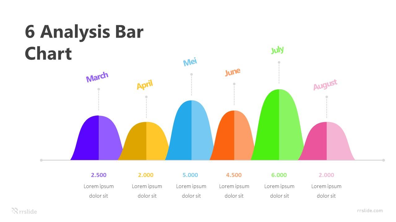6 Analysis Bar Chart Infographic Template