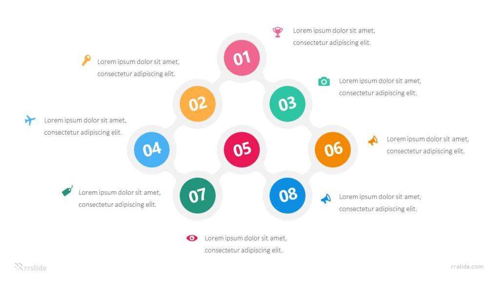 8 Circle Creative Diagram Infographic Template