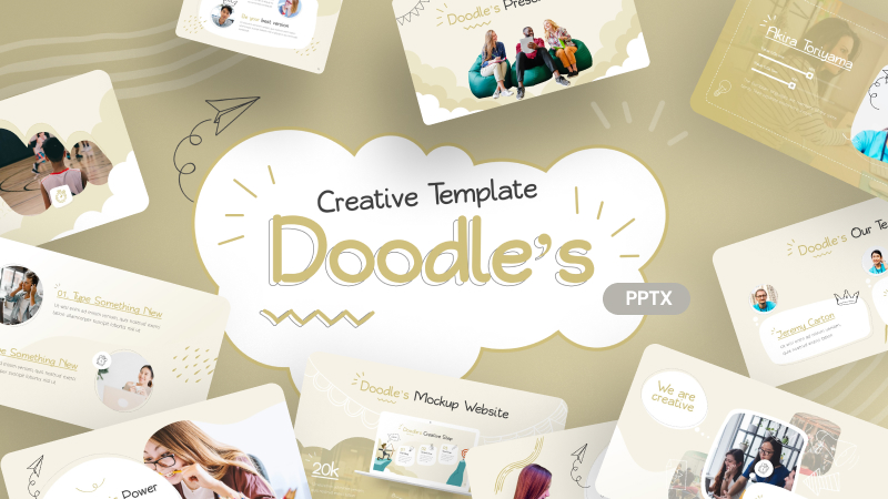 Doodle's Creative PowerPoint Template