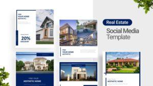 Aesthetic Home Social Media Template