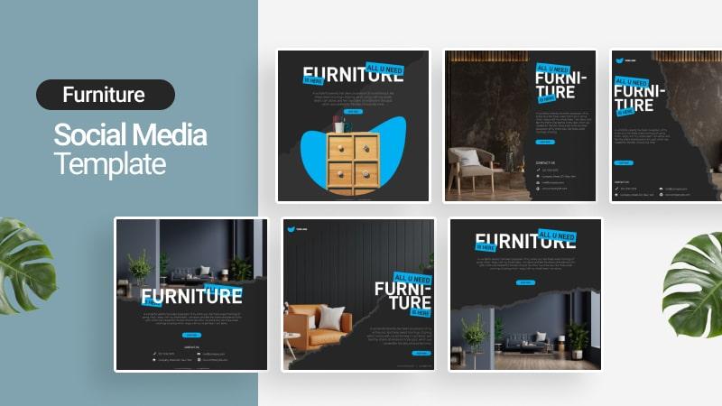 Furniture Social Media Template