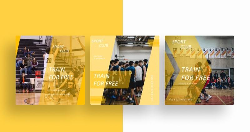 Basket Sport Social Media Template