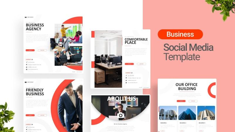 Business Agency Social Media Template