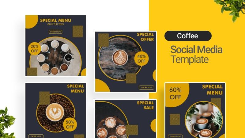 Coffee Social Media Template