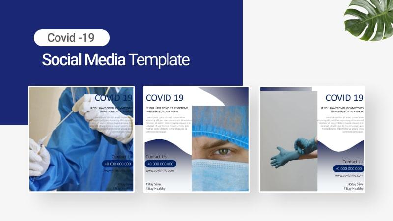 Covid-19 Social Media Template