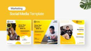 Business Marketing Social Media Template