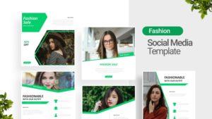 Fashion Sale Social Media Template