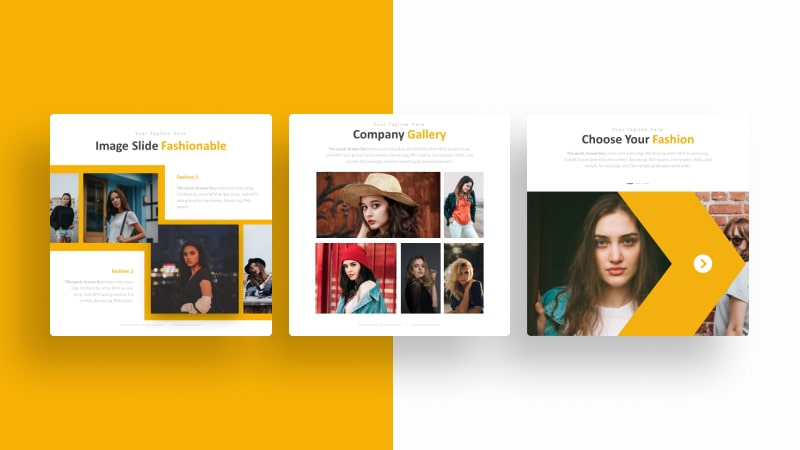 Fashionable Social Media Template