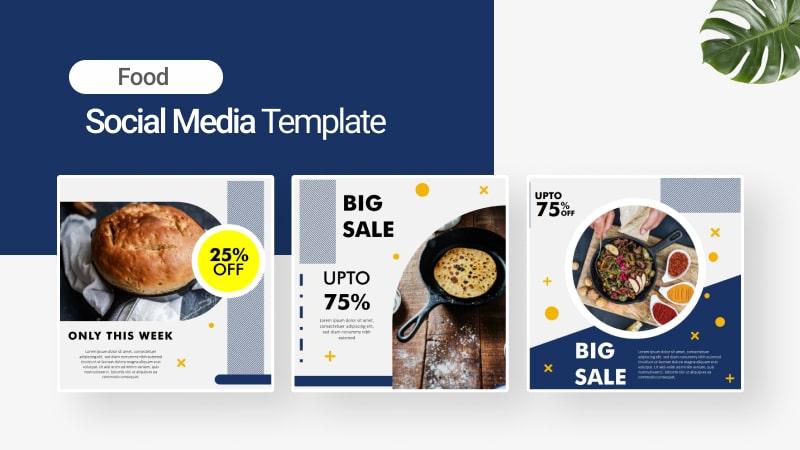 Foodie Social Media Template