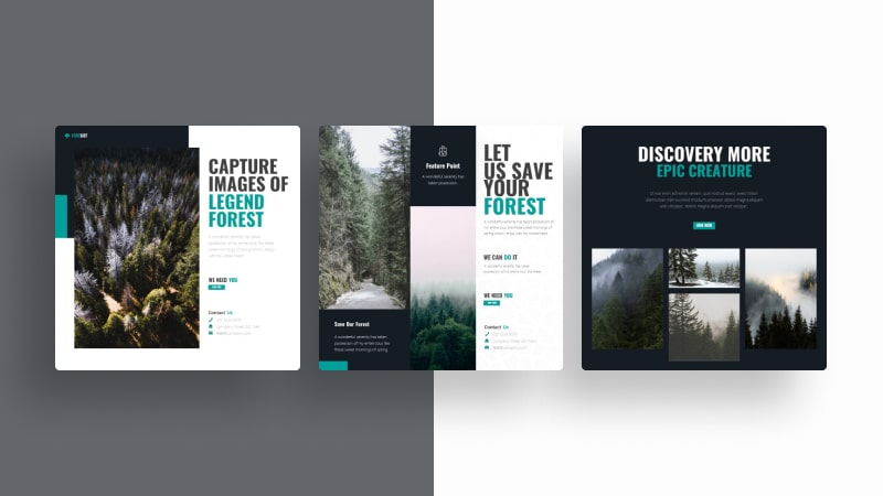 Nature Forest Social Media Template