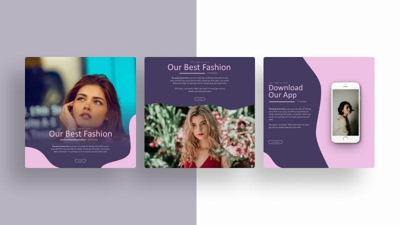 Fashion Glamour Social Media Template