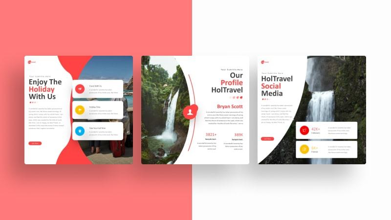 Travelholic Social Media Template