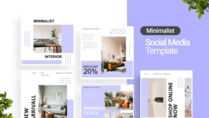 Minimalist Interior Social Media Template