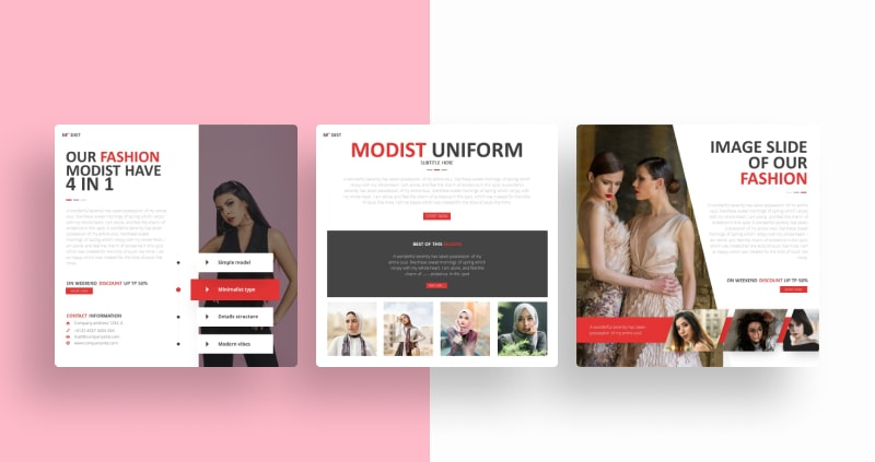 Fashion Modist Social Media Template