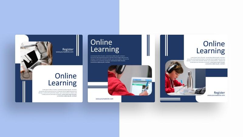 Online Education Social Media Template