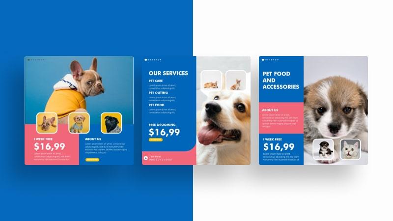 Pet Shop Social Media Template