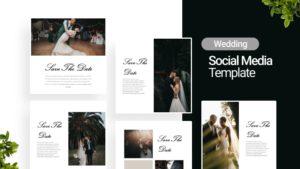 Wedding Invitation Social Media Template