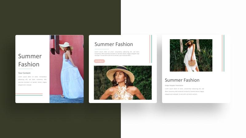 Summer Fashion Social Media Template